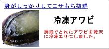 石鯛冷凍アワビ